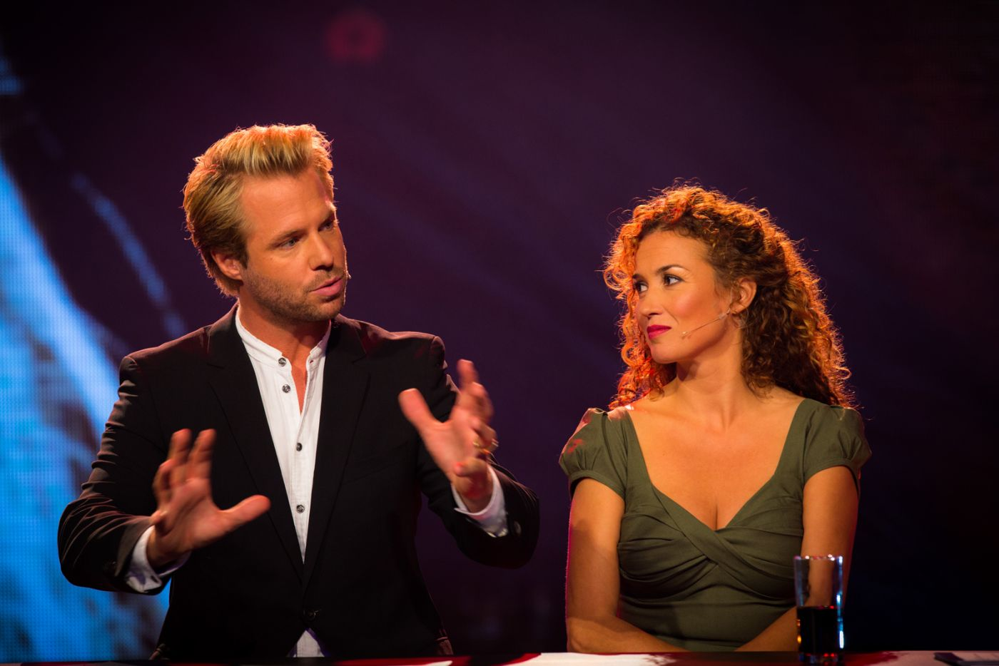 makeup Katja Schuurman & Thijs Romer