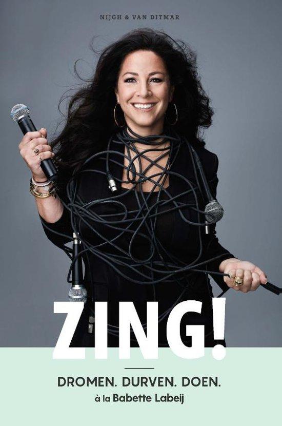 makeup Babette Labeij | Book Cover | ZING!