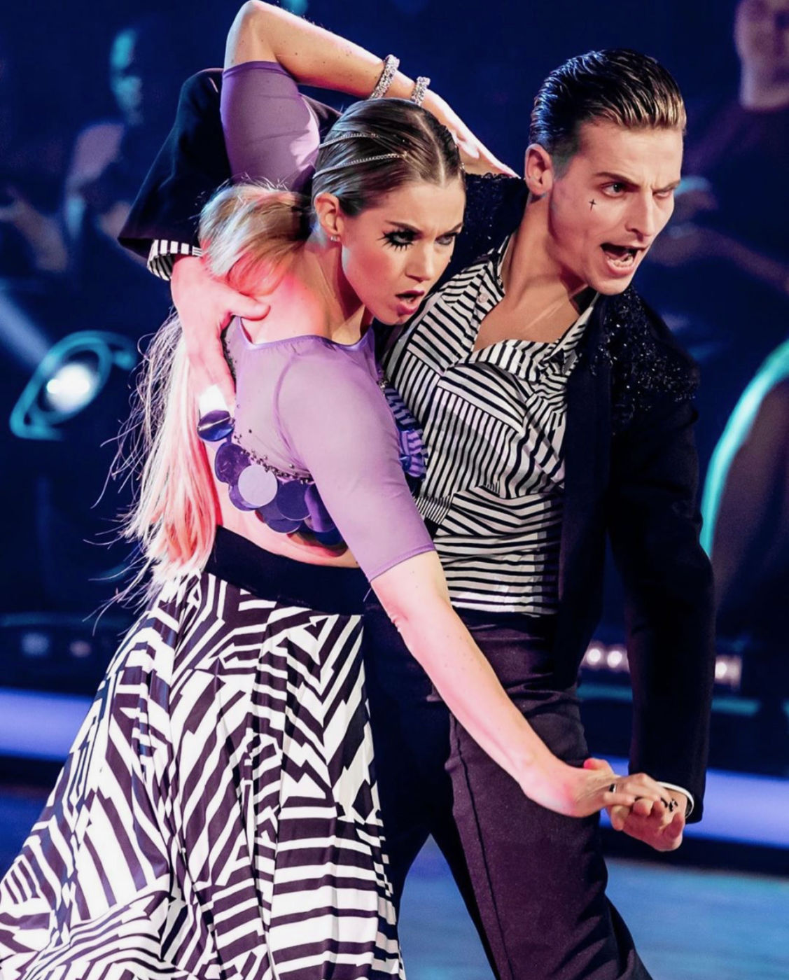 makeup Dancing with The Stars Jesse & Anouk
